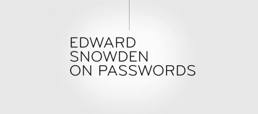 SnowdenOnPasswords